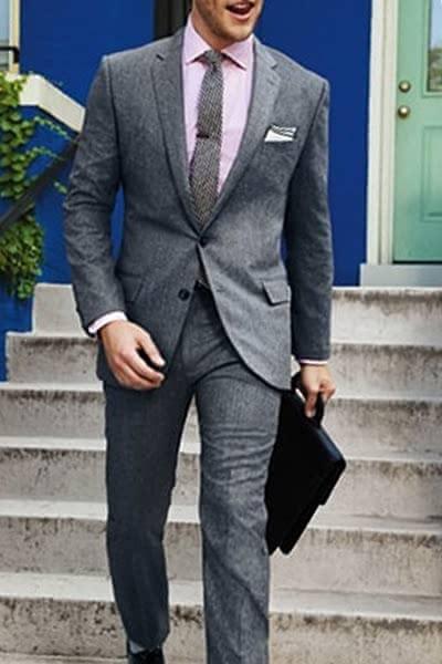 成人式 スーツ 着こなし