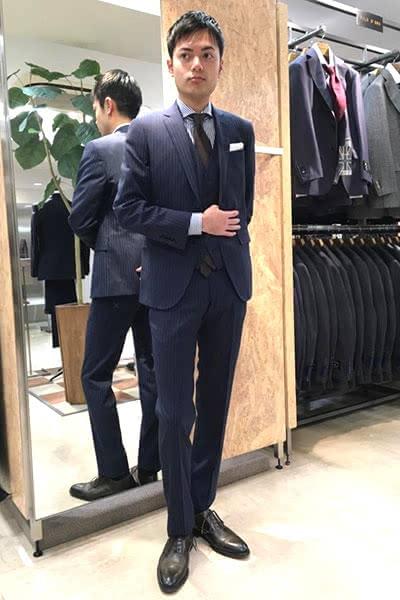 スーツ かっこいい