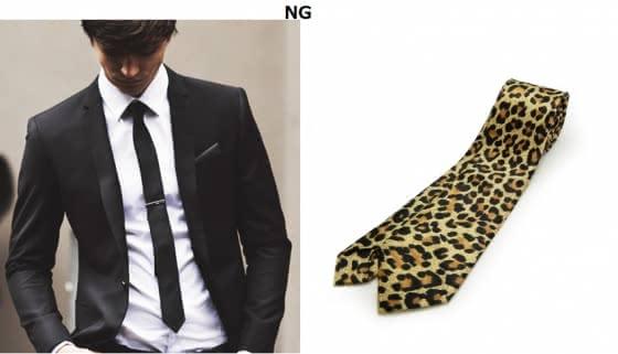 ネクタイ 選び方