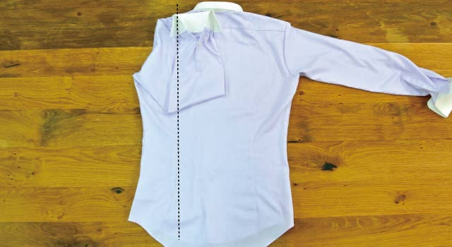ワイシャツ たたみ方