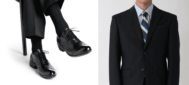 スーツ 靴下