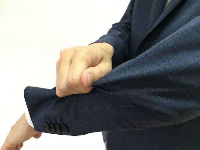 スーツ 生地