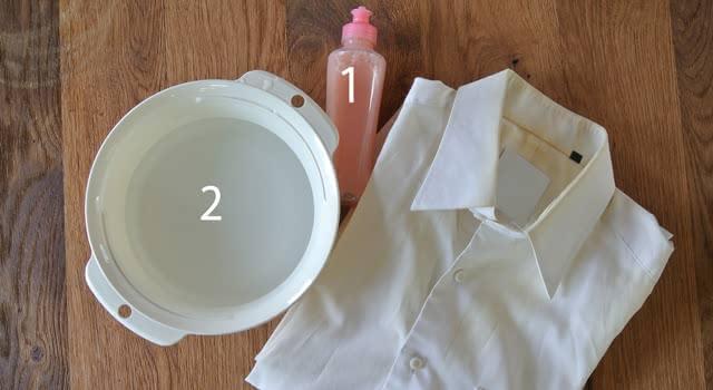 ワイシャツ 襟汚れ