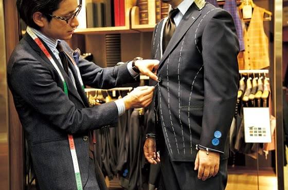 オーダーメイド スーツ