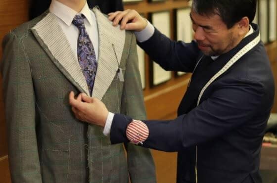 銀座 スーツ