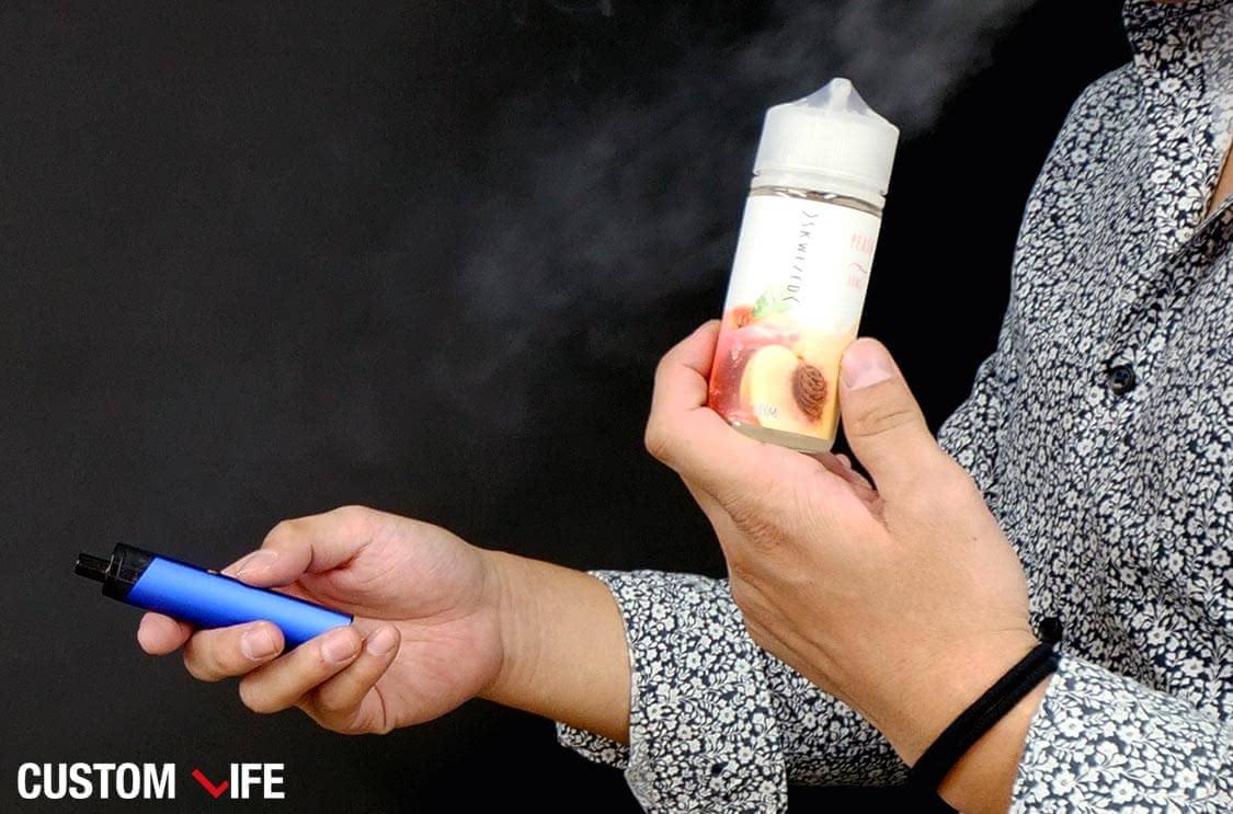 電子タバコ,リキッド