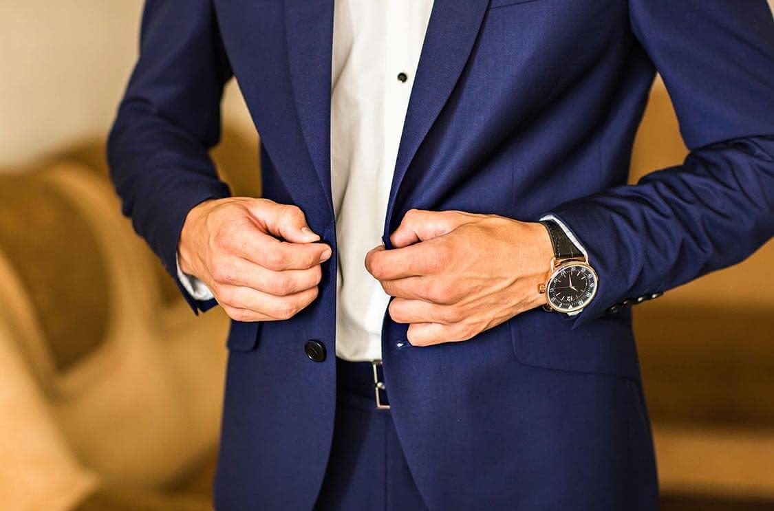スーツ 似合う