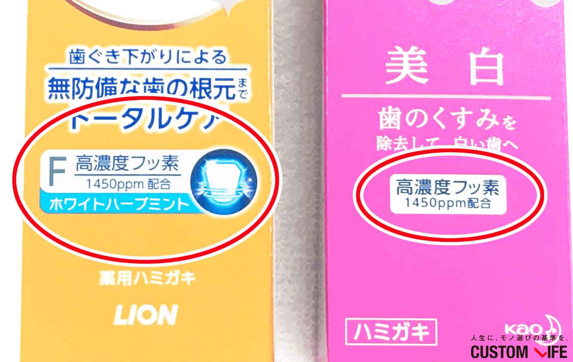 虫歯歯磨き粉