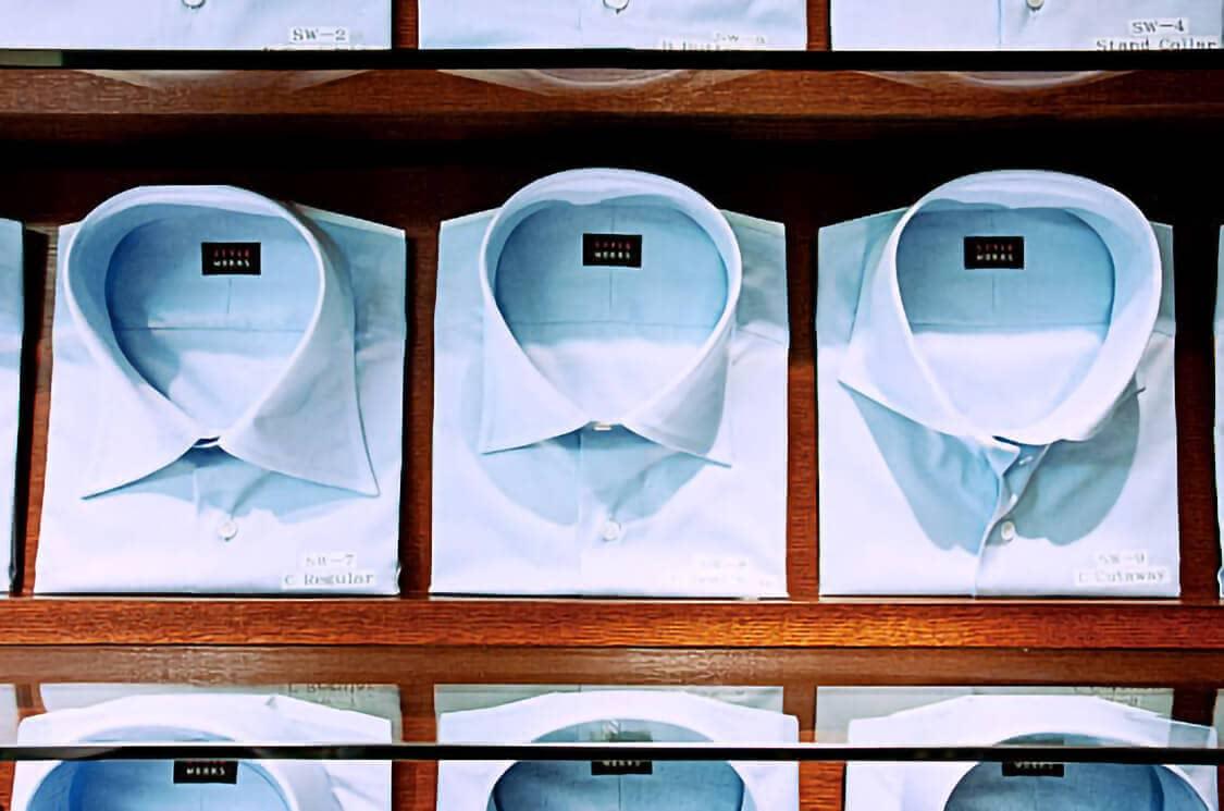 オーダーシャツ,銀座