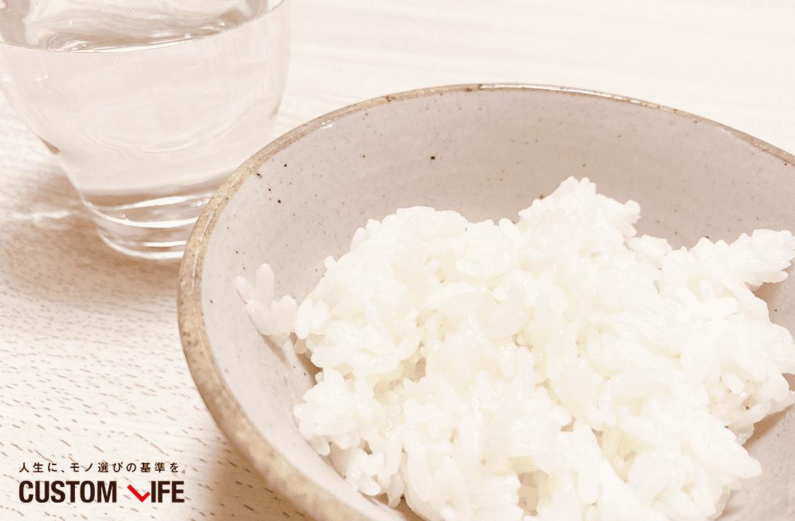 土鍋で炊いたお米の写真