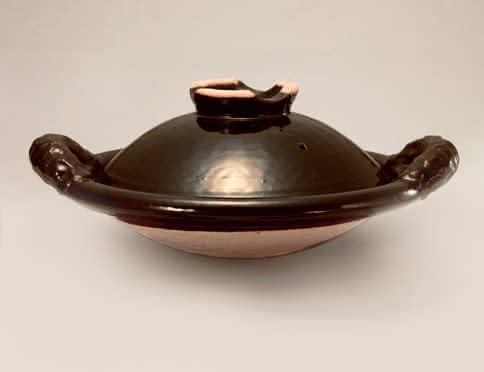 黒鍋(縄手)(土楽窯)
