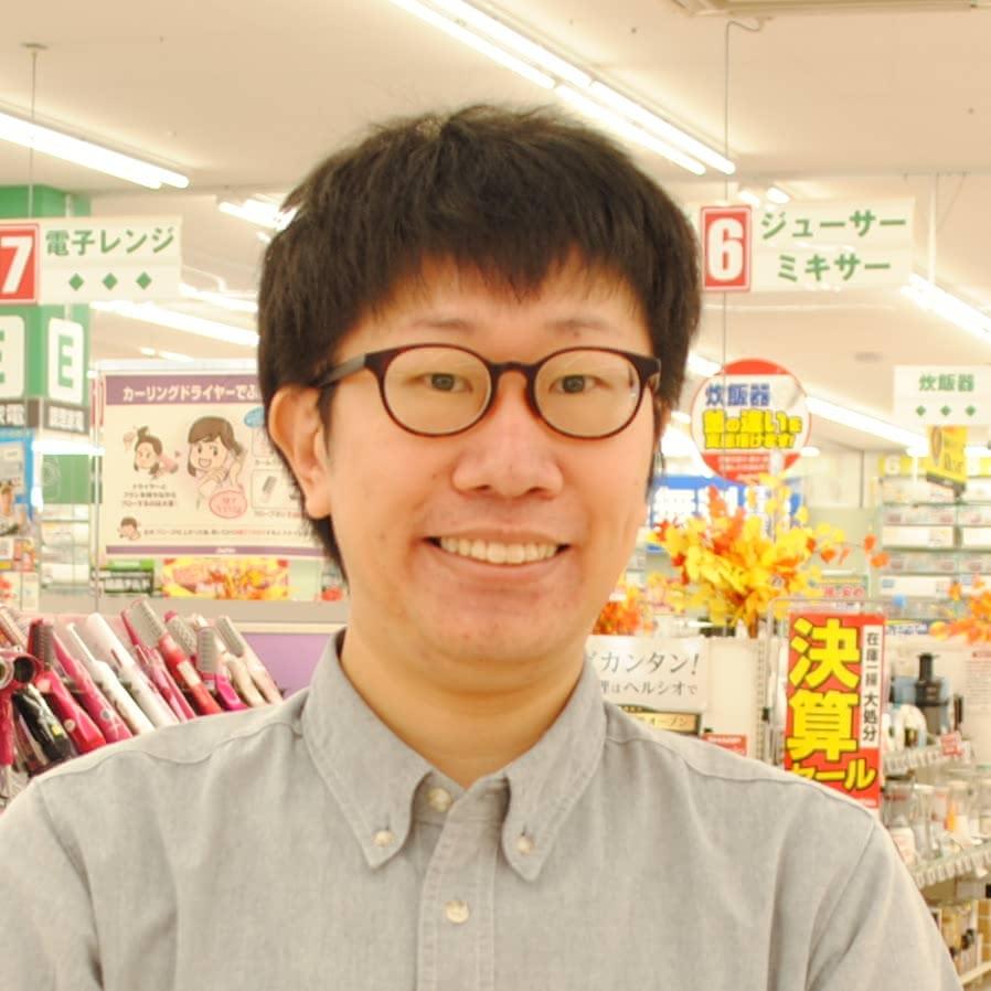 ジョーシン 岡山岡南店 主任・坂本 英祐さん