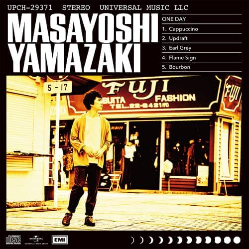 山崎まさよしさんのコンセプチュアルEP「ONEDAY」ジャケット