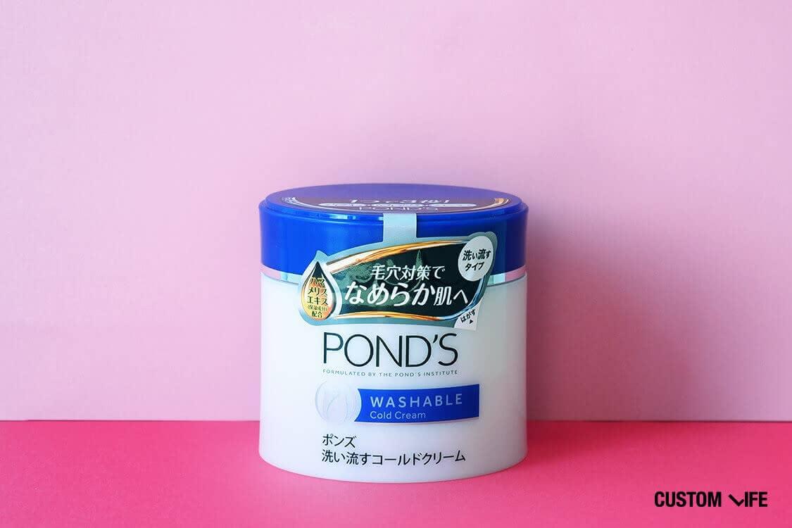 ポンズ 洗い流す コールドクリーム