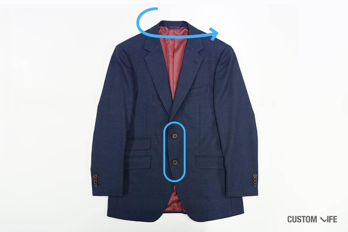 スーツ、たたみ方