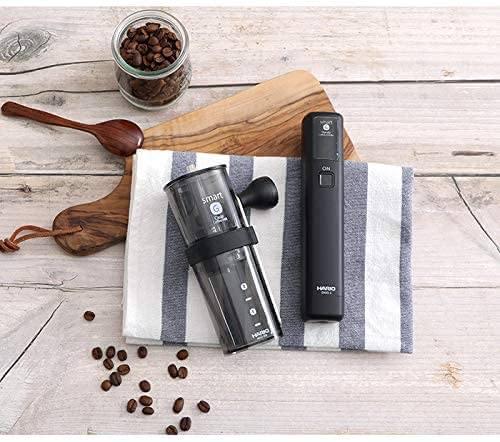 ハリオのスマートG電動ハンディーコーヒーグラインダー
