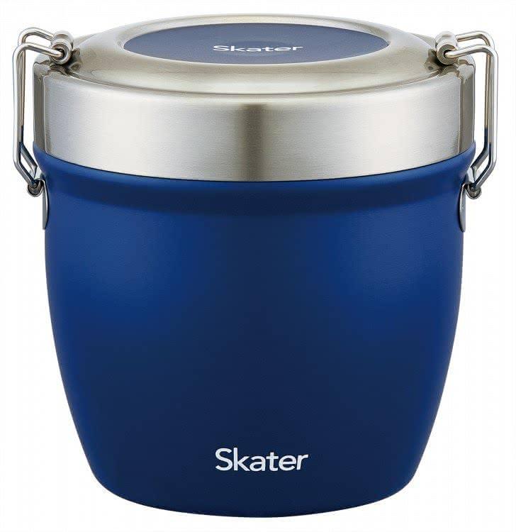 スケーターの真空ステンレス丼ランチジャー 総容量550ml ブラック/STLBD6_471056
