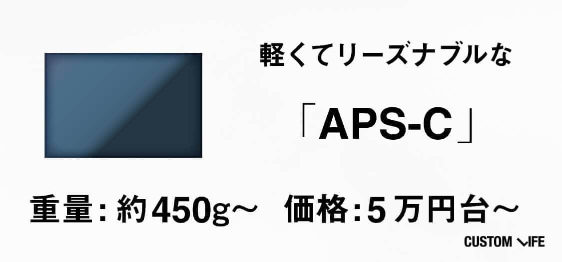 軽くてリーズナブルなAPS-C