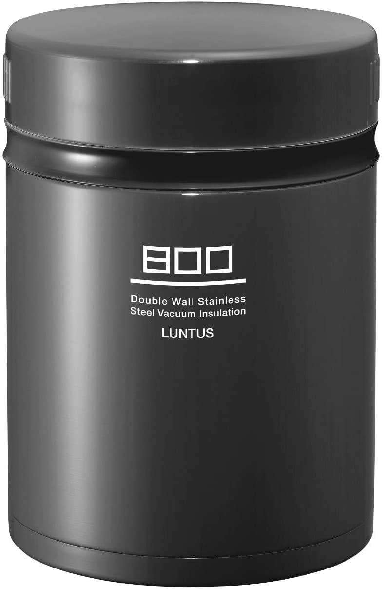 アスベルのランタスBE ステンレス保温ランチボックス HLB-B800