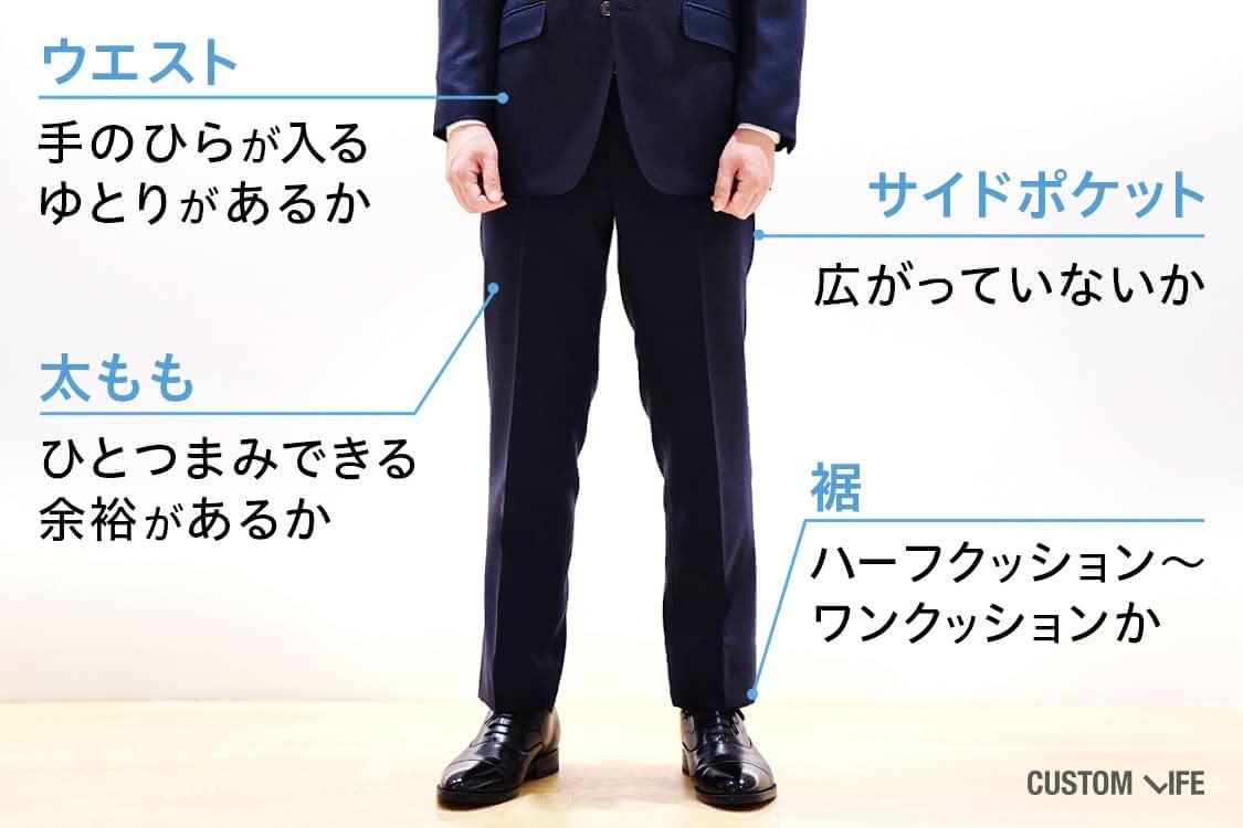 スーツ選び方