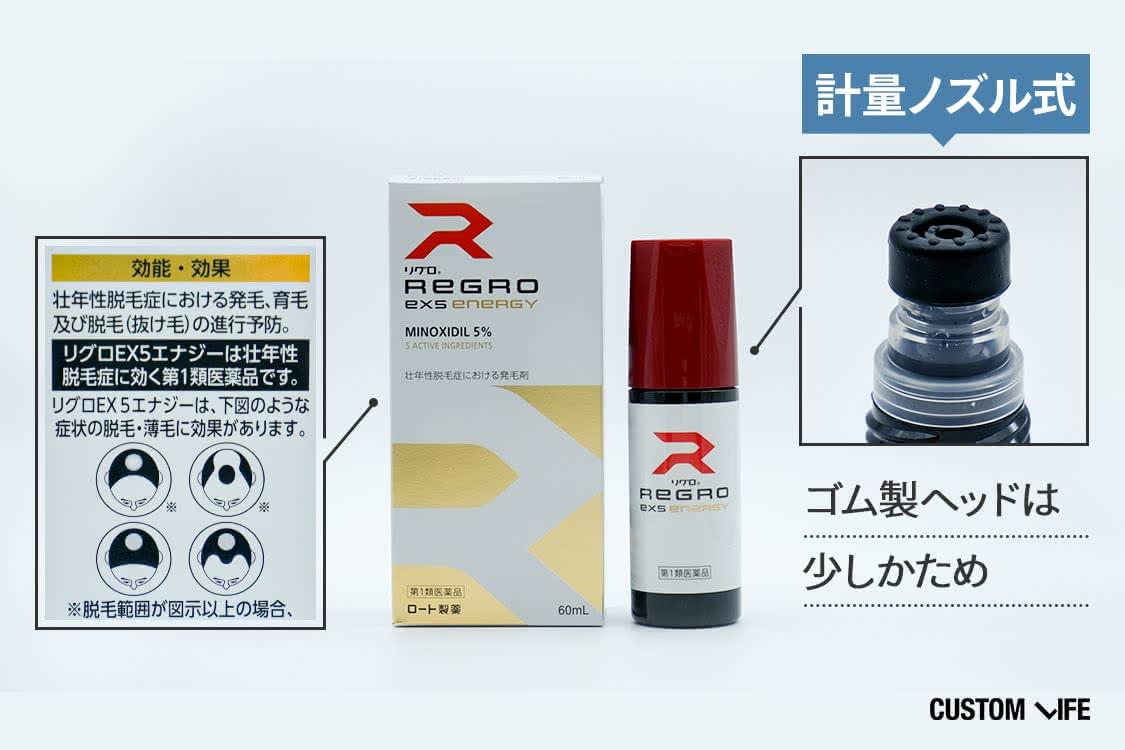 ロート製薬のリグロEX5