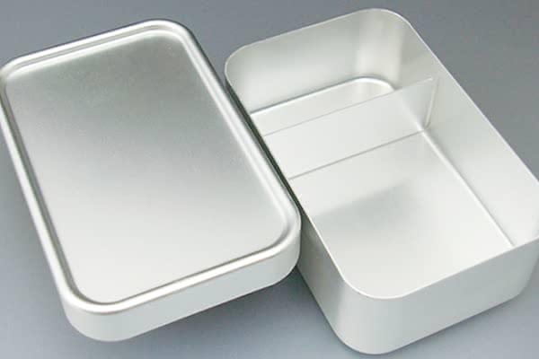 お弁当箱 アルミ 深型 Lサイズ 700ml