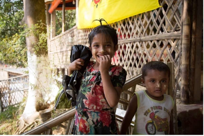 バングラデシュ・コックスバザールのミャンマー避難民キャンプ©JPF