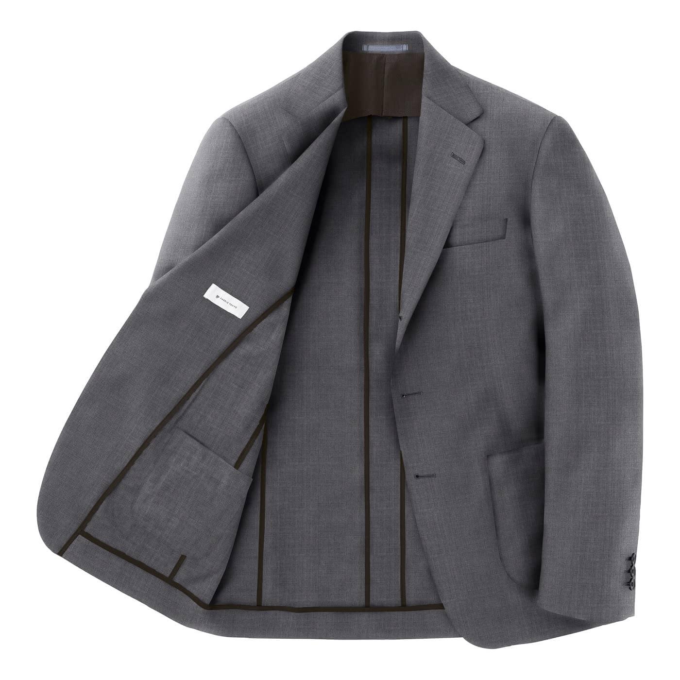 しわにならないジャケット