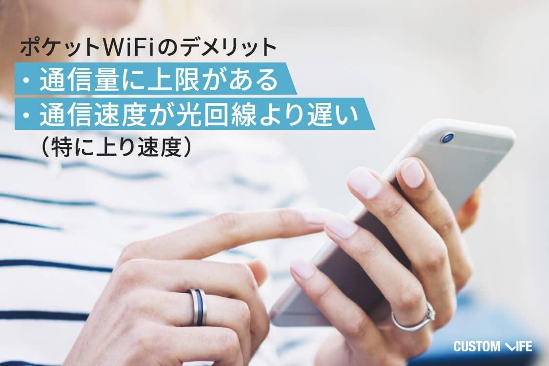 ポケットWiFi,通信速度