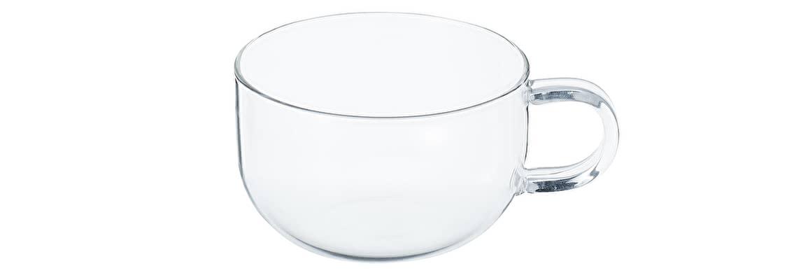 無印良品 耐熱ガラス ティーカップ