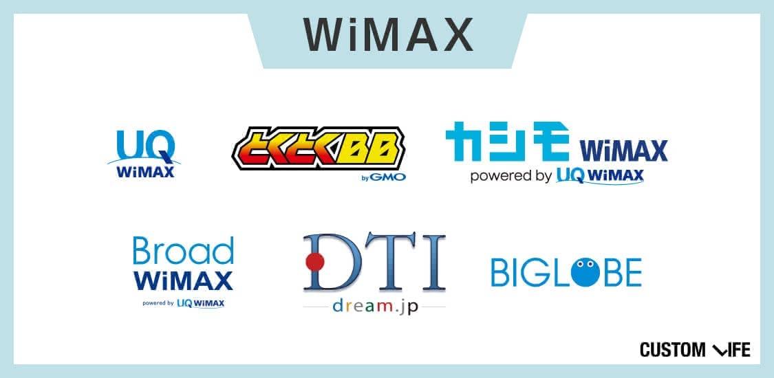 WiMAX,契約