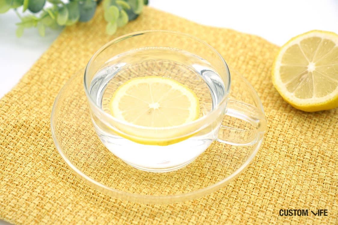 レモン白湯の写真
