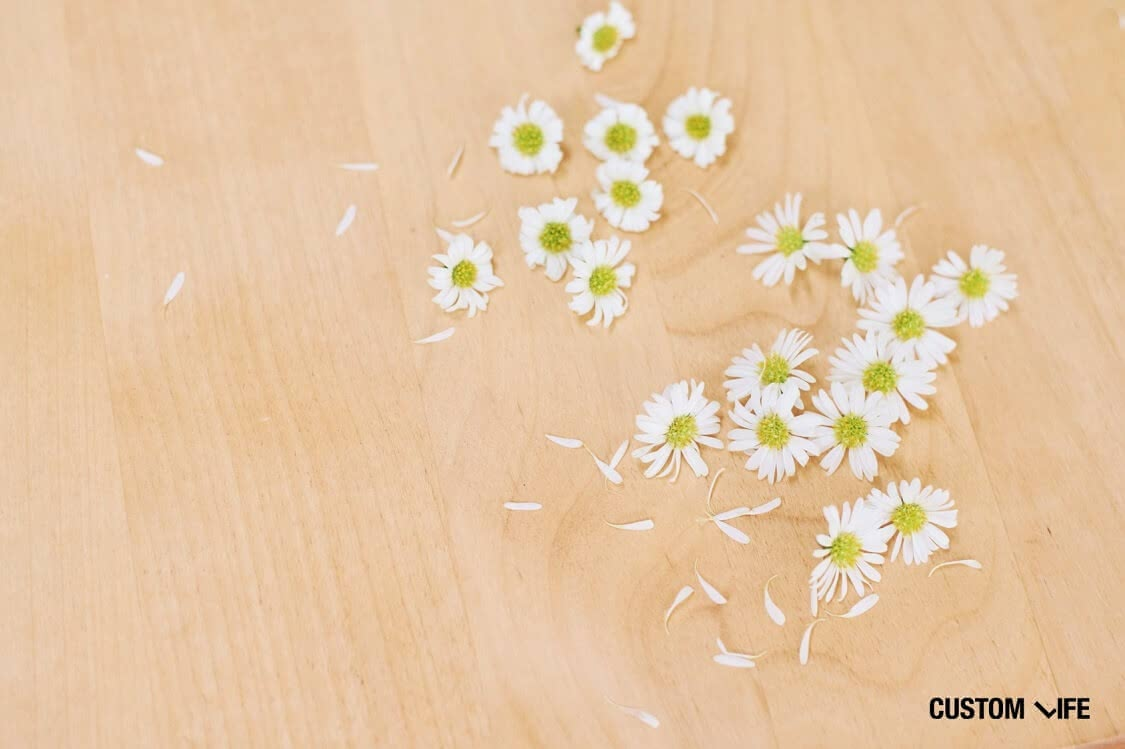 散らばった花びら